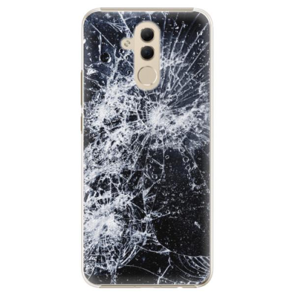 Plastové pouzdro iSaprio - Cracked - Huawei Mate 20 Lite