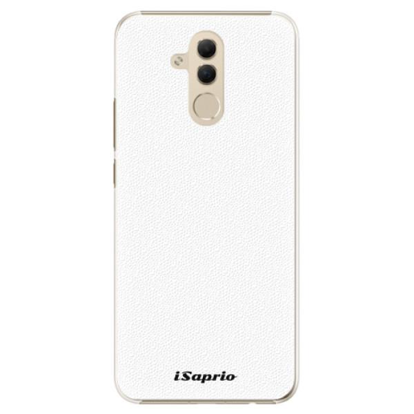 Plastové pouzdro iSaprio - 4Pure - bílý - Huawei Mate 20 Lite