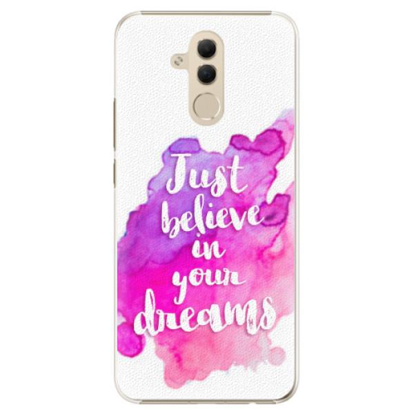 Plastové pouzdro iSaprio - Believe - Huawei Mate 20 Lite