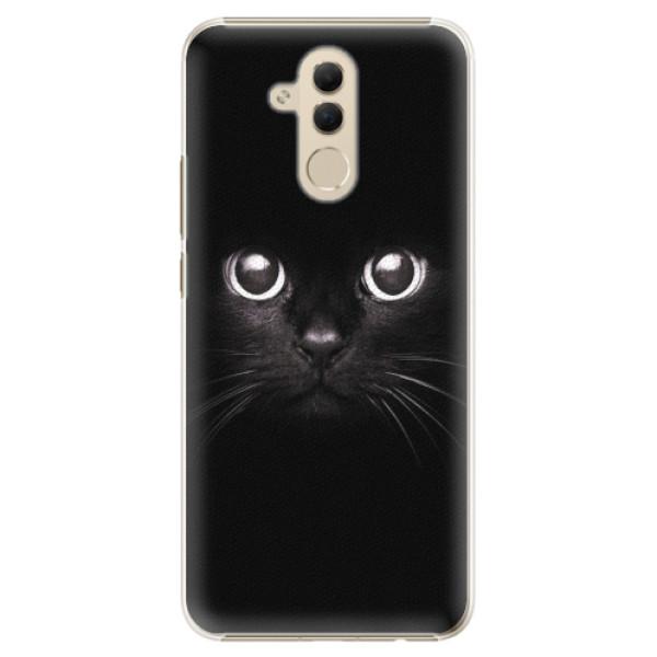 Plastové pouzdro iSaprio - Black Cat - Huawei Mate 20 Lite
