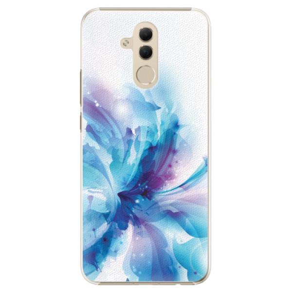 Plastové pouzdro iSaprio - Abstract Flower - Huawei Mate 20 Lite