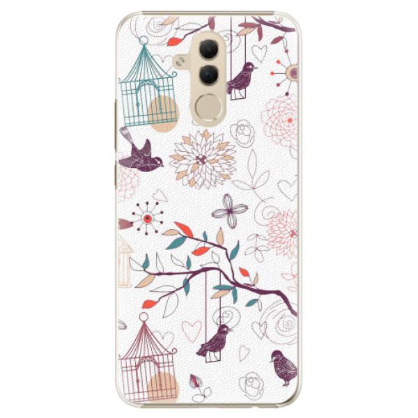 Plastové pouzdro iSaprio - Birds - Huawei Mate 20 Lite