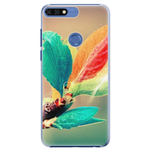 Plastové pouzdro iSaprio - Autumn 02 - Huawei Honor 7C