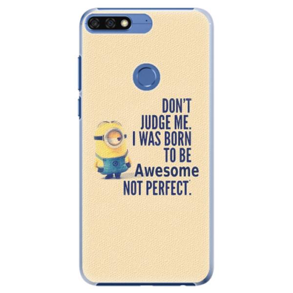 Plastové pouzdro iSaprio - Be Awesome - Huawei Honor 7C