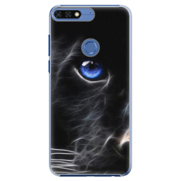 Plastové pouzdro iSaprio - Black Puma - Huawei Honor 7C