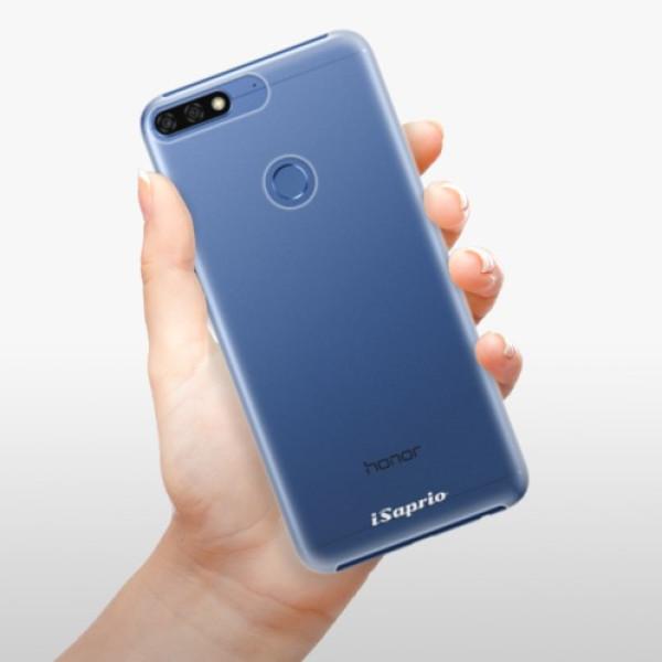 Plastové pouzdro iSaprio - 4Pure - mléčný bez potisku - Huawei Honor 7C