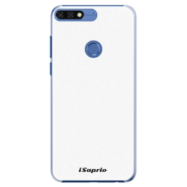 Plastové pouzdro iSaprio - 4Pure - bílý - Huawei Honor 7C
