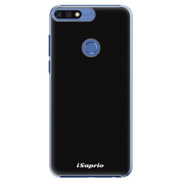 Plastové pouzdro iSaprio - 4Pure - černý - Huawei Honor 7C