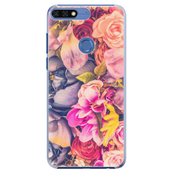 Plastové pouzdro iSaprio - Beauty Flowers - Huawei Honor 7C