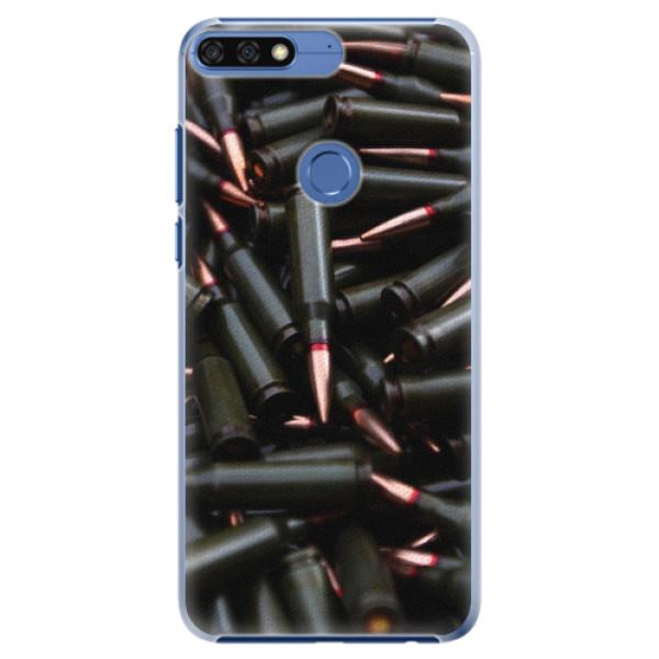 Plastové pouzdro iSaprio - Black Bullet - Huawei Honor 7C