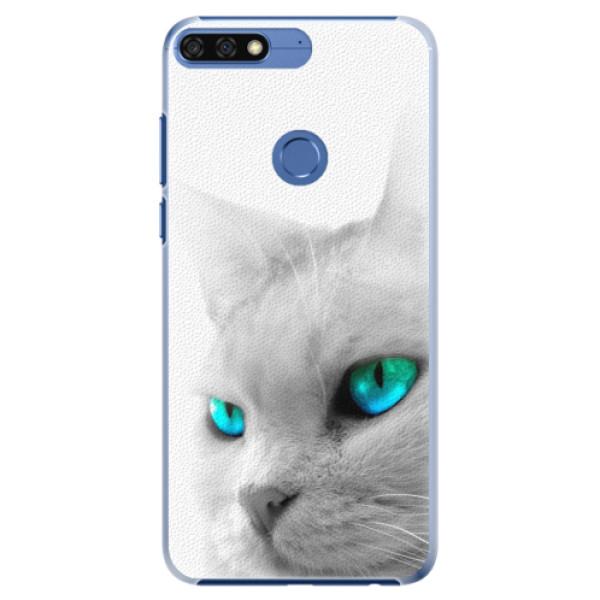 Plastové pouzdro iSaprio - Cats Eyes - Huawei Honor 7C