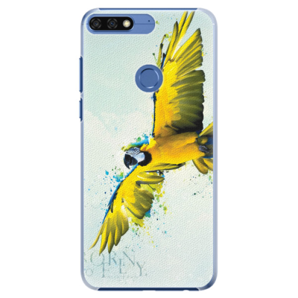 Plastové pouzdro iSaprio - Born to Fly - Huawei Honor 7C