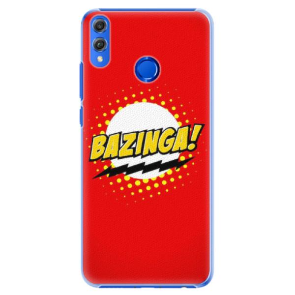 Plastové pouzdro iSaprio - Bazinga 01 - Huawei Honor 8X
