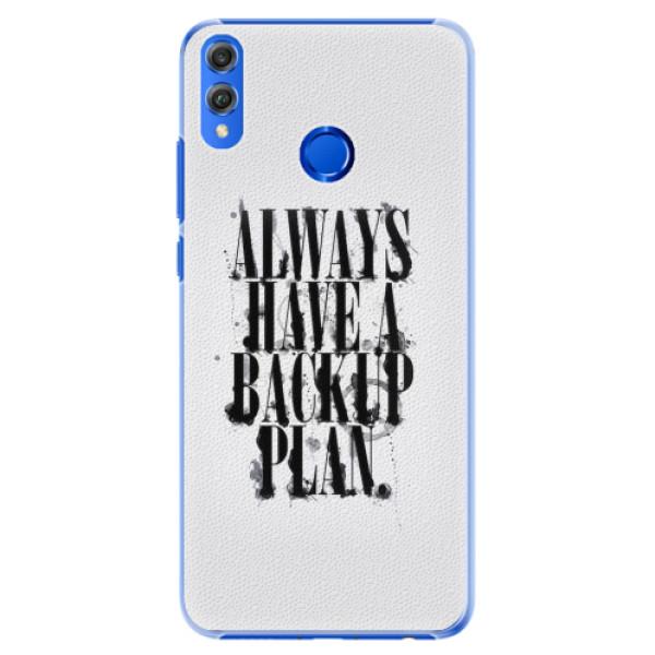 Plastové pouzdro iSaprio - Backup Plan - Huawei Honor 8X