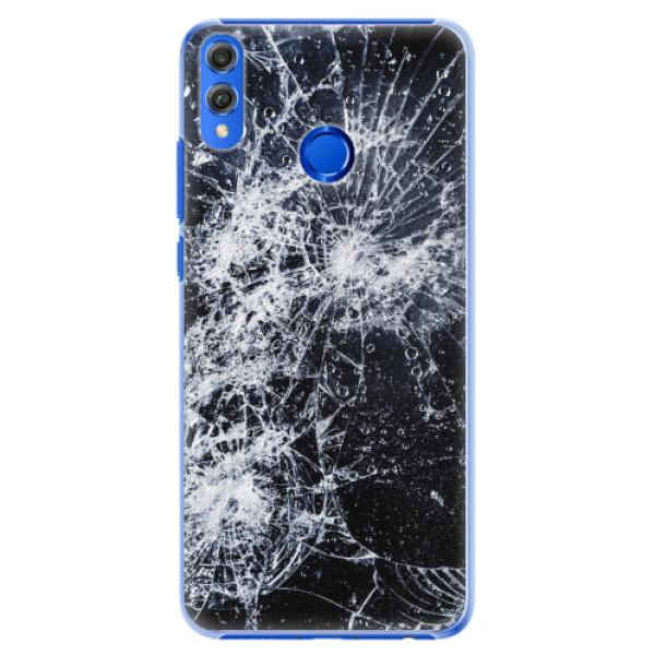 Plastové pouzdro iSaprio - Cracked - Huawei Honor 8X