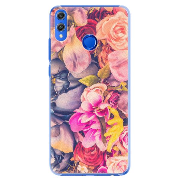 Plastové pouzdro iSaprio - Beauty Flowers - Huawei Honor 8X