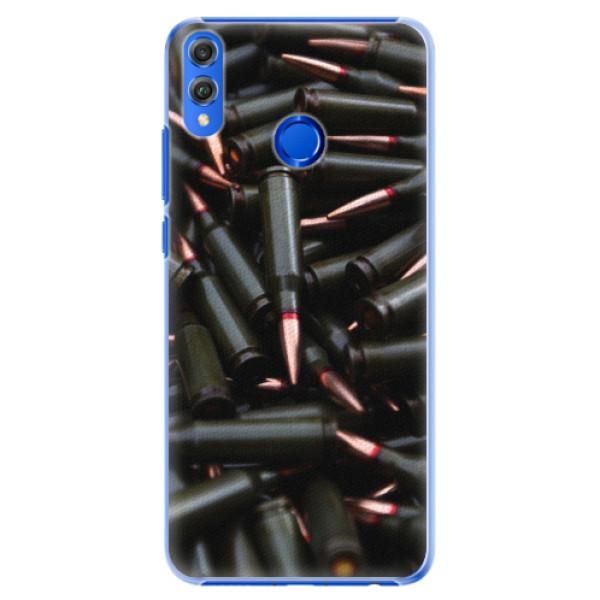 Plastové pouzdro iSaprio - Black Bullet - Huawei Honor 8X