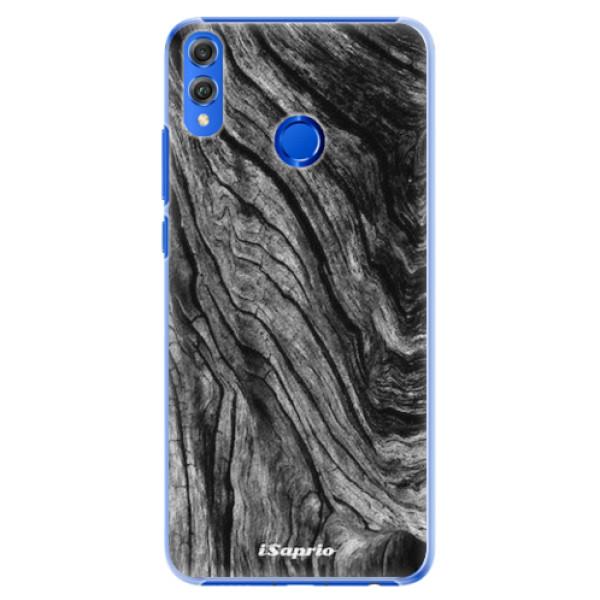 Plastové pouzdro iSaprio - Burned Wood - Huawei Honor 8X