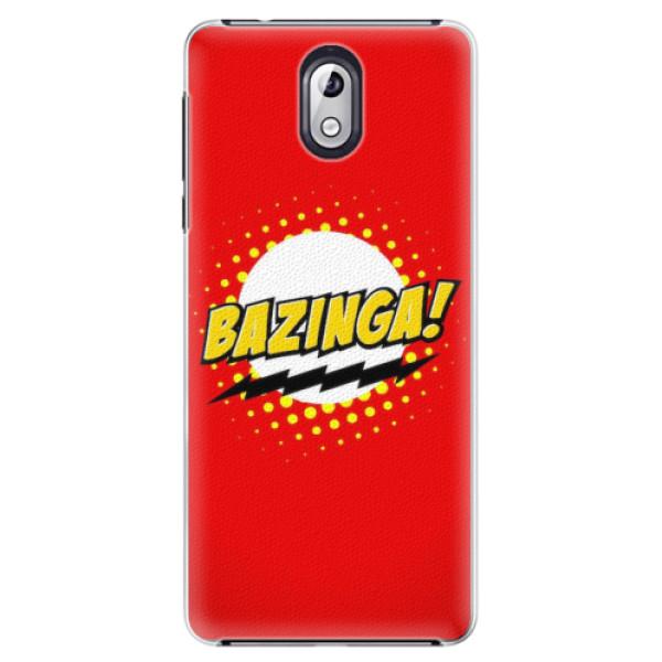 Plastové pouzdro iSaprio - Bazinga 01 - Nokia 3.1