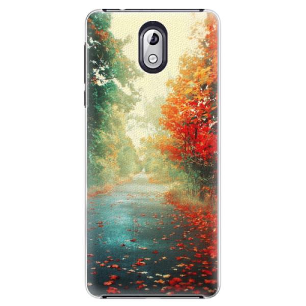 Plastové pouzdro iSaprio - Autumn 03 - Nokia 3.1
