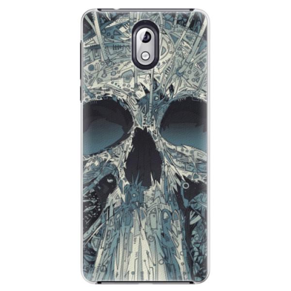 Plastové pouzdro iSaprio - Abstract Skull - Nokia 3.1