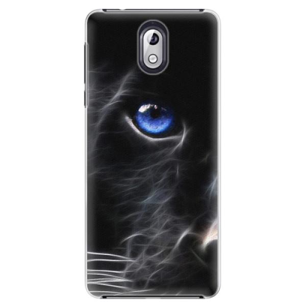 Plastové pouzdro iSaprio - Black Puma - Nokia 3.1