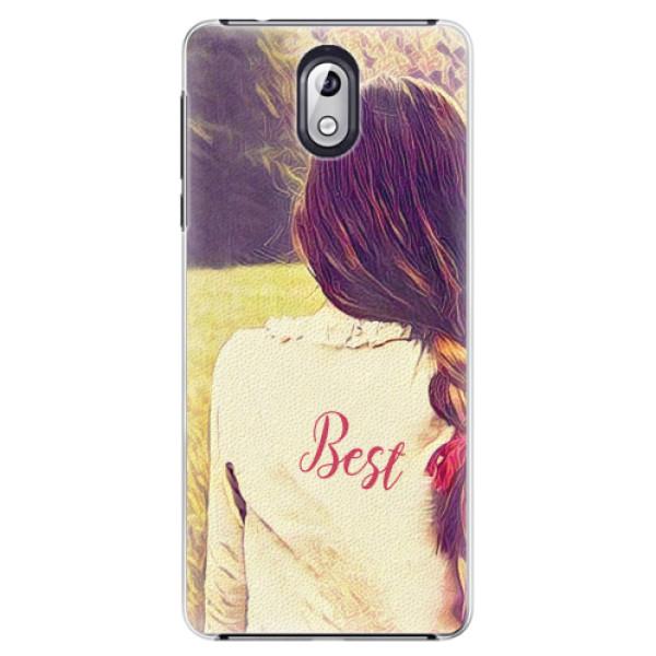 Plastové pouzdro iSaprio - BF Best - Nokia 3.1