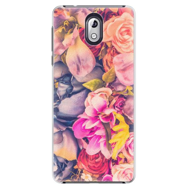 Plastové pouzdro iSaprio - Beauty Flowers - Nokia 3.1