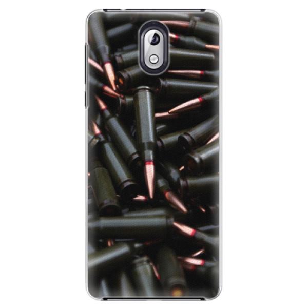 Plastové pouzdro iSaprio - Black Bullet - Nokia 3.1