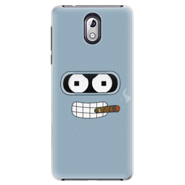 Plastové pouzdro iSaprio - Bender - Nokia 3.1