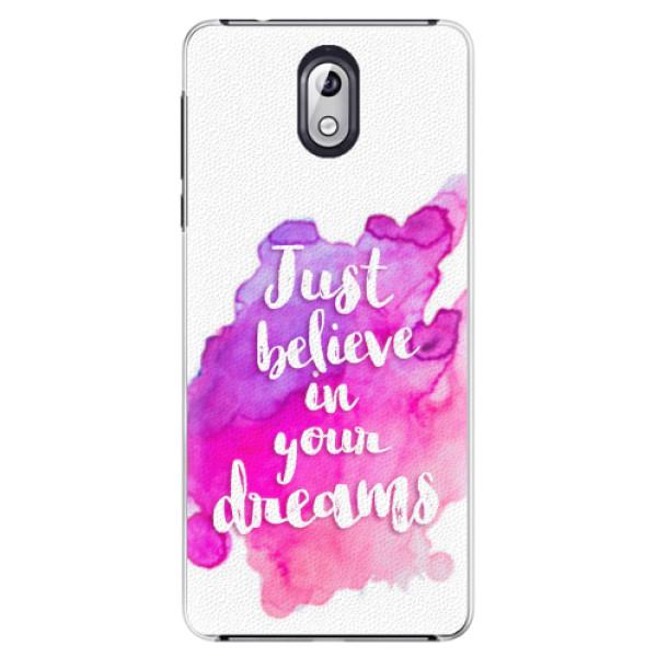 Plastové pouzdro iSaprio - Believe - Nokia 3.1
