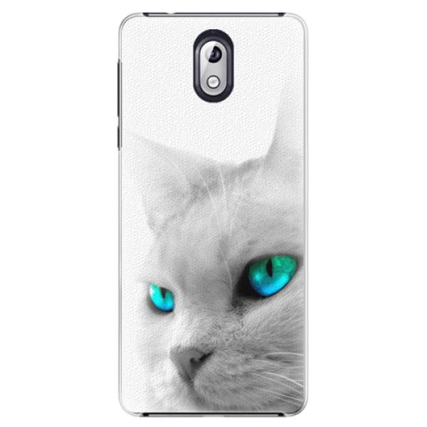 Plastové pouzdro iSaprio - Cats Eyes - Nokia 3.1