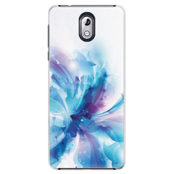 Plastové pouzdro iSaprio - Abstract Flower - Nokia 3.1