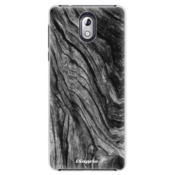 Plastové pouzdro iSaprio - Burned Wood - Nokia 3.1