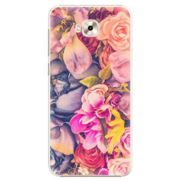 Plastové pouzdro iSaprio - Beauty Flowers - Asus ZenFone 4 Selfie ZD553KL
