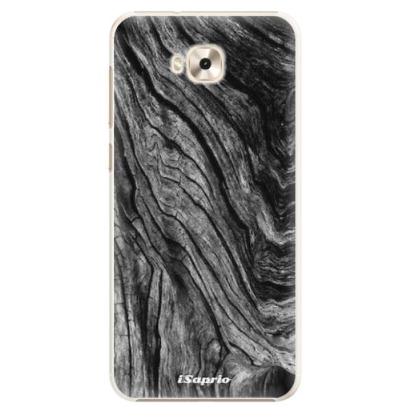 Plastové pouzdro iSaprio - Burned Wood - Asus ZenFone 4 Selfie ZD553KL