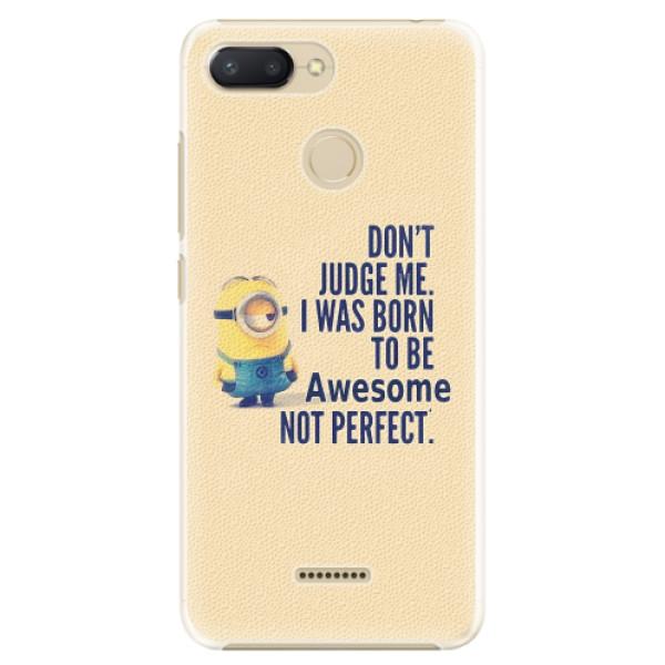 Plastové pouzdro iSaprio - Be Awesome - Xiaomi Redmi 6