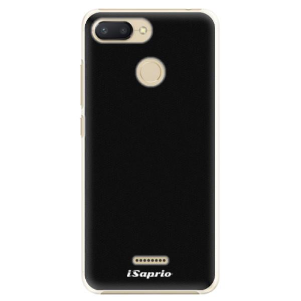 Plastové pouzdro iSaprio - 4Pure - černý - Xiaomi Redmi 6