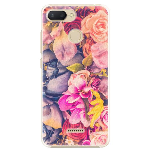 Plastové pouzdro iSaprio - Beauty Flowers - Xiaomi Redmi 6
