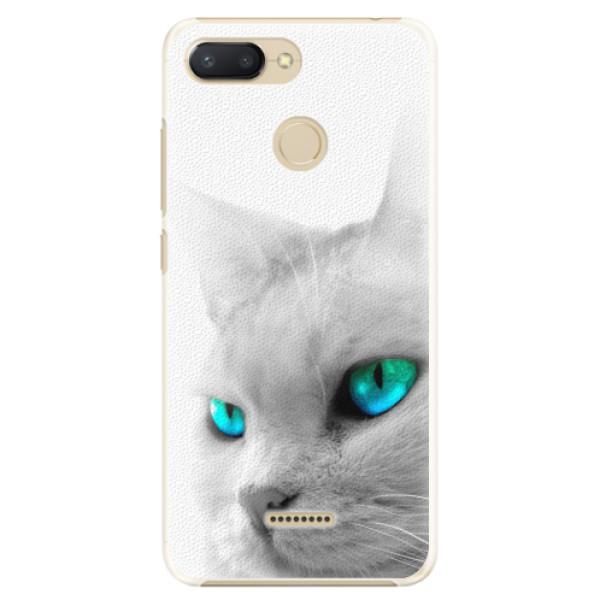 Plastové pouzdro iSaprio - Cats Eyes - Xiaomi Redmi 6