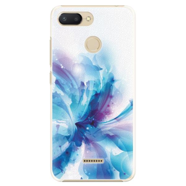 Plastové pouzdro iSaprio - Abstract Flower - Xiaomi Redmi 6