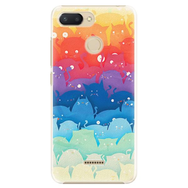 Plastové pouzdro iSaprio - Cats World - Xiaomi Redmi 6