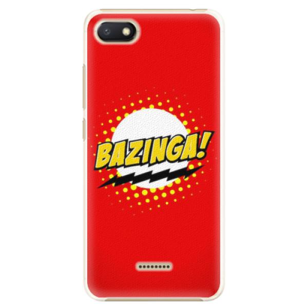 Plastové pouzdro iSaprio - Bazinga 01 - Xiaomi Redmi 6A