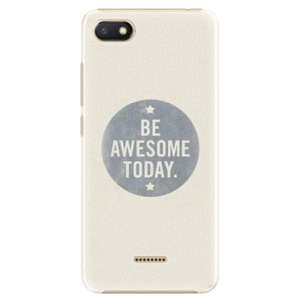 Plastové pouzdro iSaprio - Awesome 02 - Xiaomi Redmi 6A