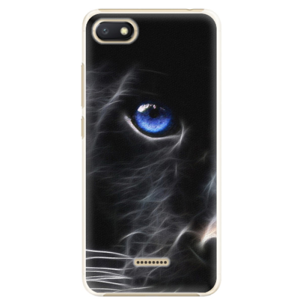 Plastové pouzdro iSaprio - Black Puma - Xiaomi Redmi 6A