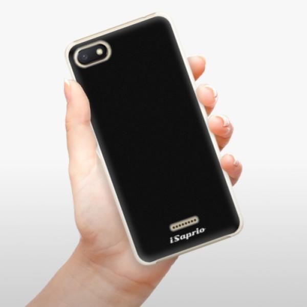 Plastové pouzdro iSaprio - 4Pure - černý - Xiaomi Redmi 6A