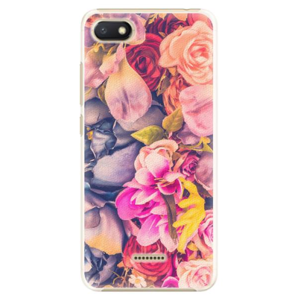 Plastové pouzdro iSaprio - Beauty Flowers - Xiaomi Redmi 6A