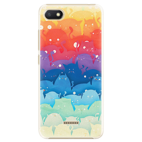 Plastové pouzdro iSaprio - Cats World - Xiaomi Redmi 6A