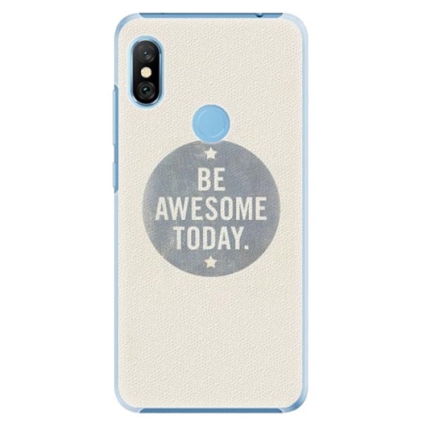 Plastové pouzdro iSaprio - Awesome 02 - Xiaomi Redmi Note 6 Pro