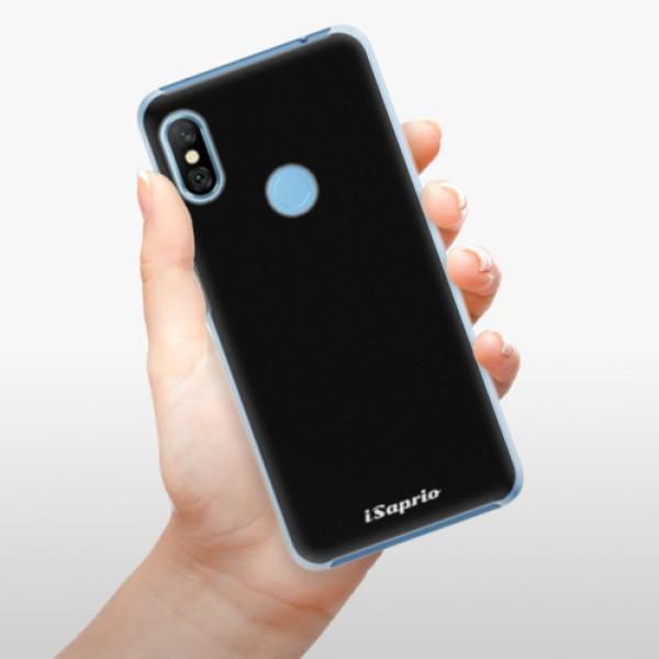Plastové pouzdro iSaprio - 4Pure - černý - Xiaomi Redmi Note 6 Pro